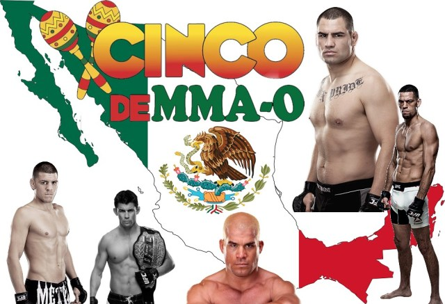 Happy Cinco de MMA-O – The Top 5 Best Mexican MMA Fighters Ever