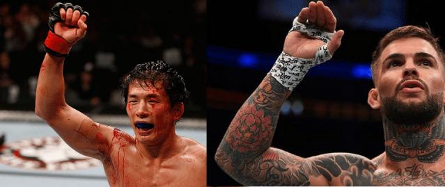 Cody Garbrandt to face Takeya Mizugaki at UFC 202