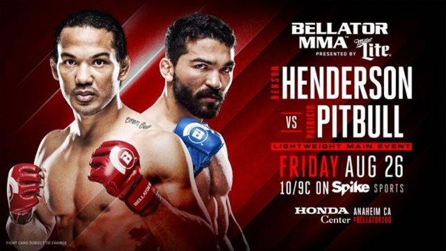 Benson Henderson vs Patricio Pitbull title shot eliminator