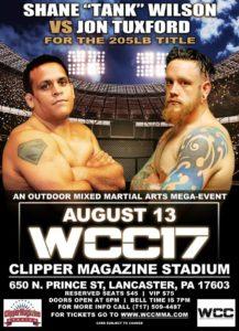 Shane WIlson vs Jon Tuxford at WCC 17