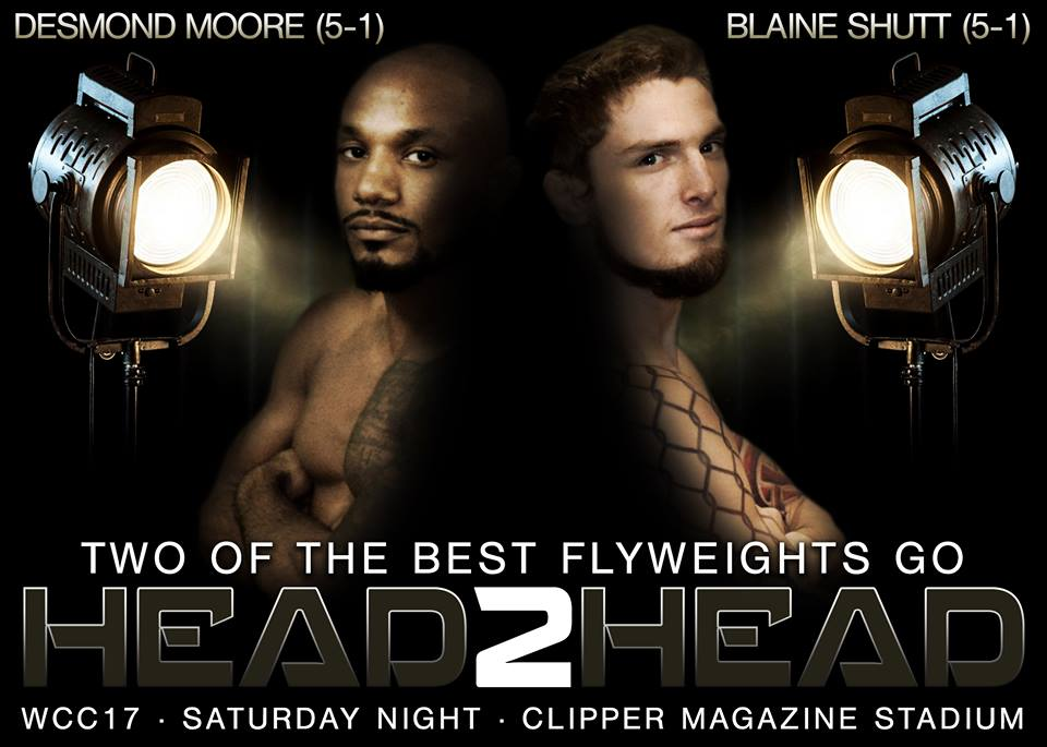 Blaine Shutt vs Desmond Moore at WCC 17
