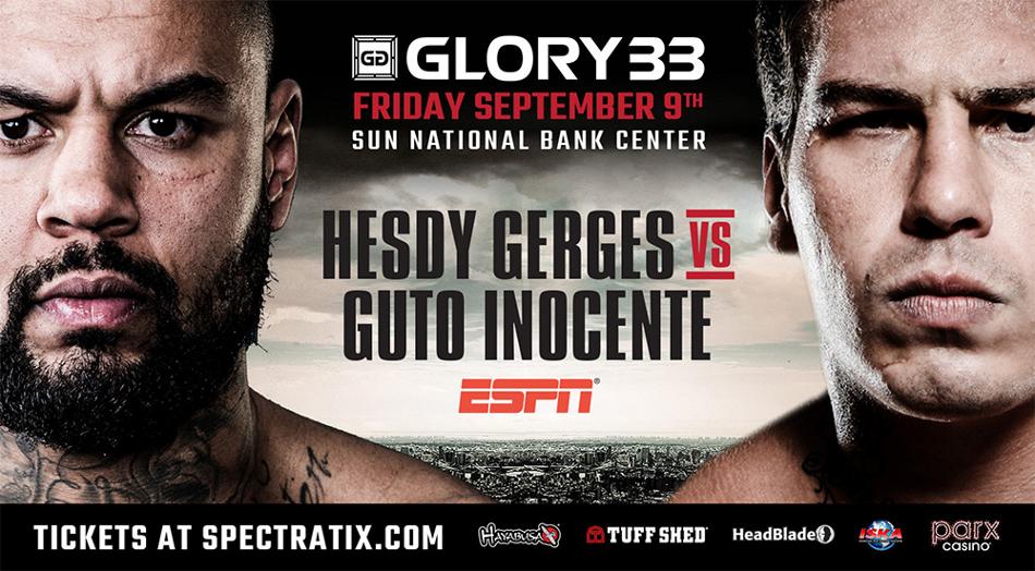 GLORY 33 New Jersey