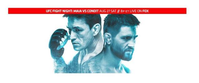 UFC on FOX 21 results:  Condit vs. Maia