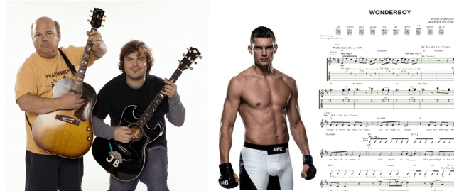 Stephen 'Wonderboy' Thompson wants Jack Black to sing live at title shot