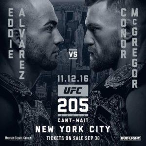 UFC 205 main event