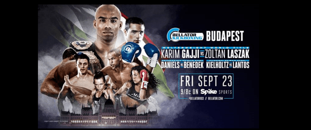 Bellator Kickboxing Returns to SPIKE This Friday From Budapest