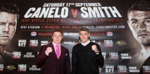 Canelo Alvarez vs Liam Smith results