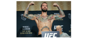 CM Punk at UFC 203 weigh-ins. Photo by MMA Junkie