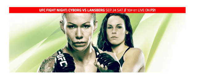 What's on the minds of the stars of UFC Fight Night: Cyborg vs Lansberg?