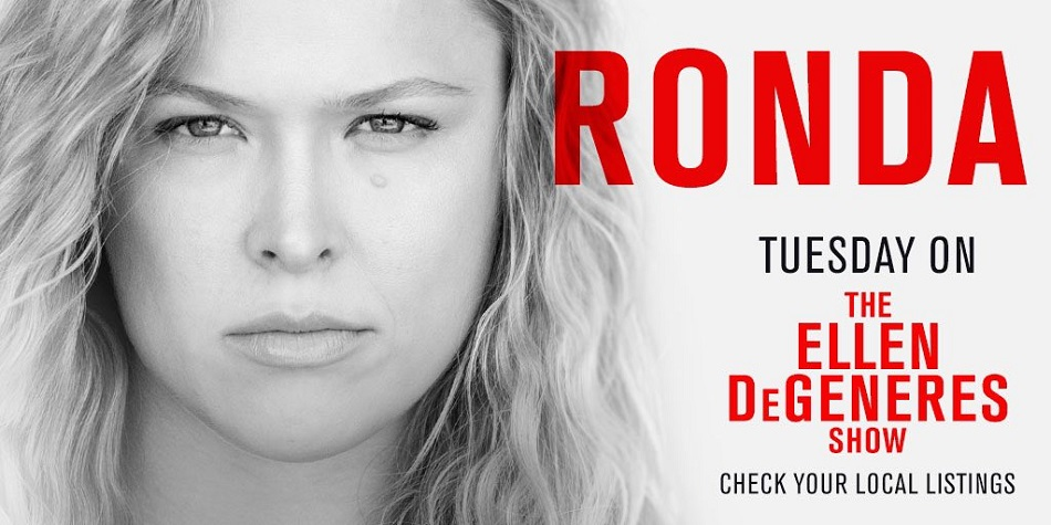 Ronda Rousey to appear on Ellen DeGeneres, talk UFC return Tuesday