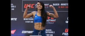 UFC Fight Night 100 - Claudia Gadelha