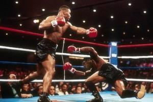 Mike Tyson vs Trevor Berbick - November 22, 1986 - Photo by Jeff Robbins/Associated Press