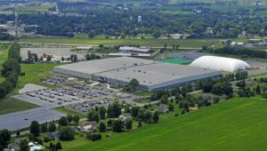Aerial view of Spooky Nook