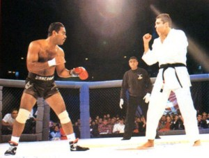 Art Jimmerson vs Royce Gracie - UFC 1