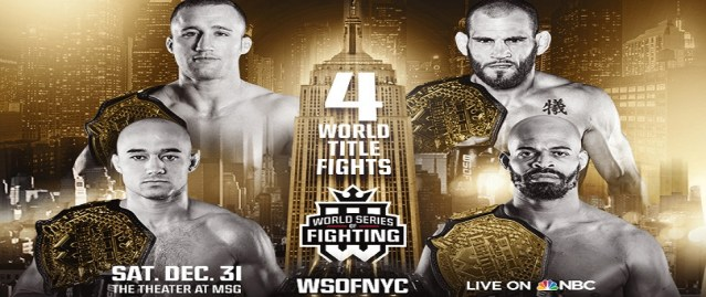 WSOF 34 – WSOFNYC Results from Madison Square Garden – New Year's Eve