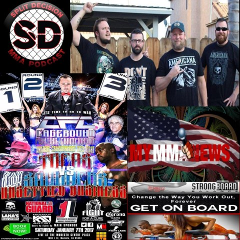 Split Decision MMA Podcast:  Cagebound Unsettled Business