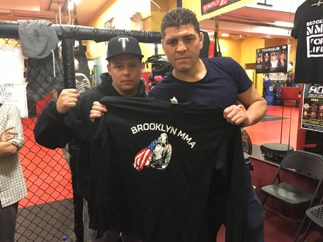 Brooklyn MMA - Terry Gold and Nick Diaz