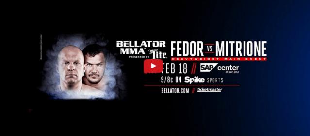 Watch Bellator 172 weigh-ins – 8 p.m. EST / 5 p.m. PST
