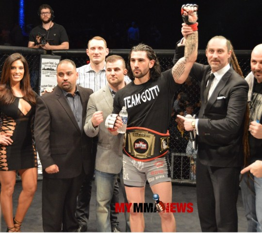 John Gotti Imposed his Will Upon Wolter to Win Triton Fights Welterweight Title