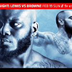 UFC Fight Night 105 results:  Browne vs. Lewis