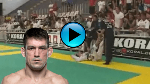 #ThrowbackThursday – Demian Maia put to sleep by Romulo Barral