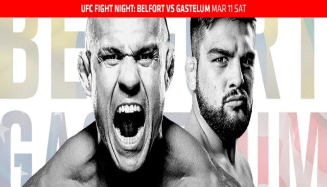 UFC Fight Night 106 results:  Belfort vs. Gastelum