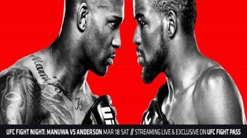 UFC Fight Night 107 – UFC London Results:  Corey Anderson vs. Jimi Manuwa