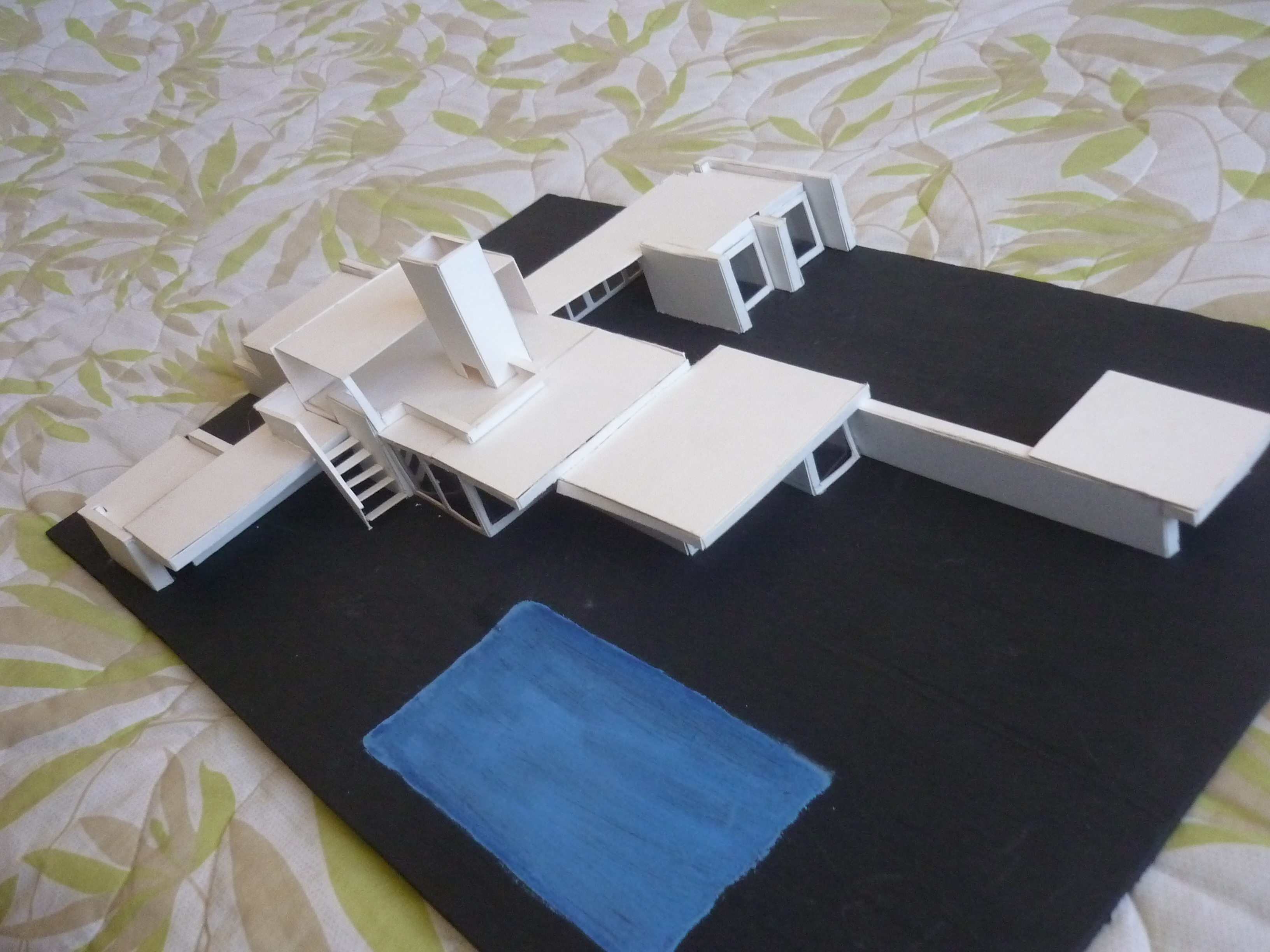 Casa kaufmann  MMmaquetasymodelos