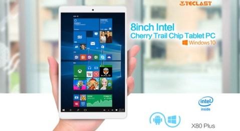 windows10搭載8インチタブレットTeclast X80 Plus レビュー!