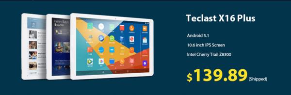 Teclast X16 Plus 2 in 1 Tablet PCの写真