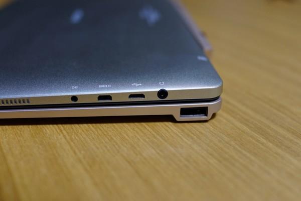 Onda OBook10 Ultrabook Tablet PC 外部接続端子参考写真