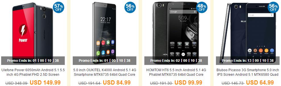 Bestselling Cell Phones 商品ラインナップ