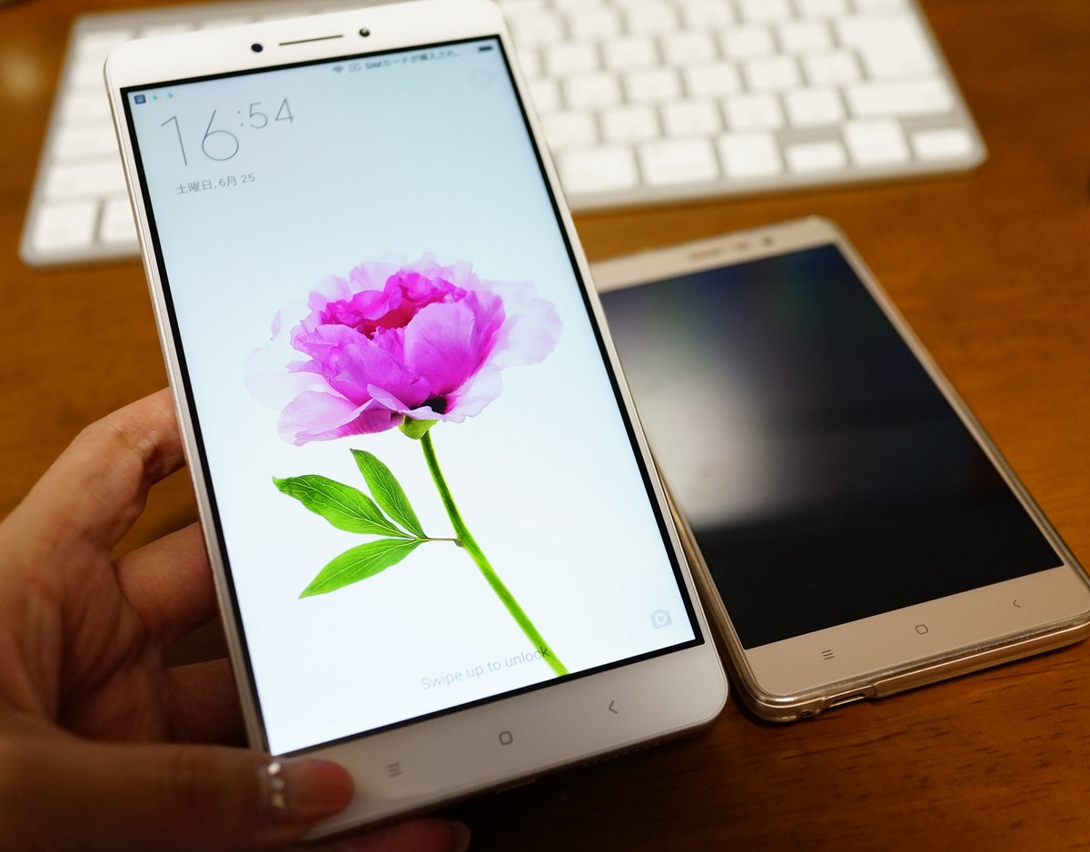Xiaomi Mi MAX レビュー イメージ画像
