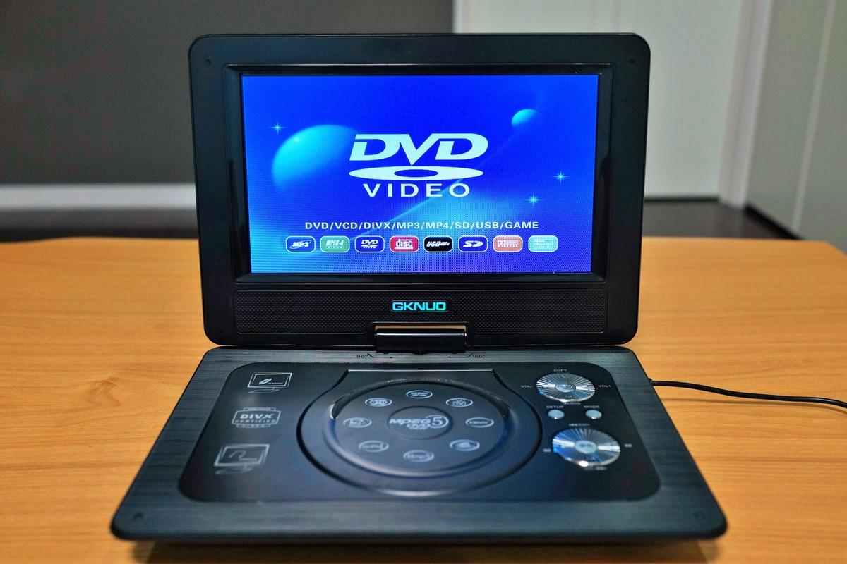 GKNUO GNK-101 10.1インチ Portable DVD Playerレビュー