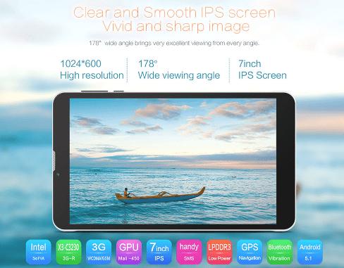 割引クーポンで5千円以下!Teclast X70 3Gシムが入れられるタブレット スペック詳細参考写真