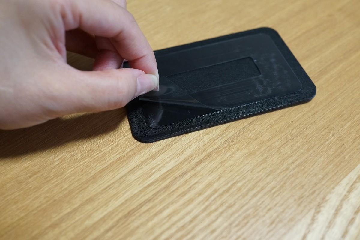 dodocool スマホに貼るカード収納ホルダーレビュー