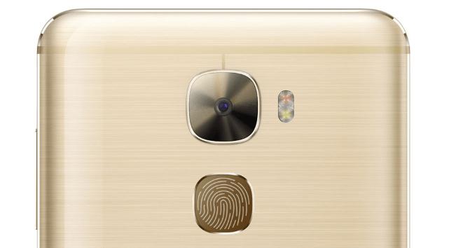 LeTV Leeco Le Pro 3 は背面に指紋認証センサーを搭載の説明画像