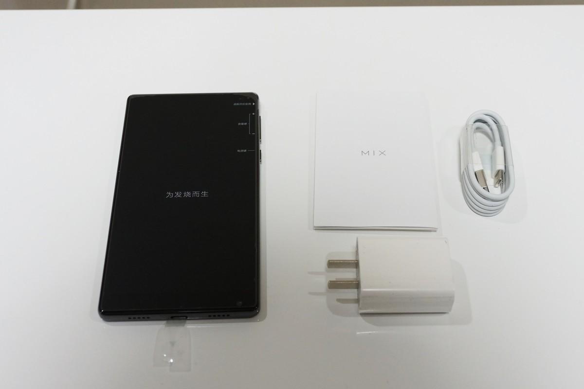 Xiaomi Mi MIX 実機レビュー 付属品の説明