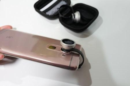 dodocool スマホカメラにつけて広域とマクロと魚眼撮影ができるレンズ