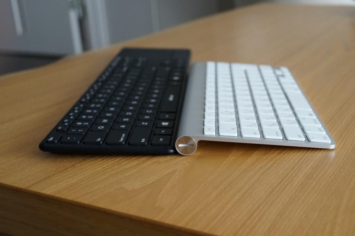 d15インチ タッチパット付き 英語配列Bluetoothキーボード アイソレーション+パンタグラフ