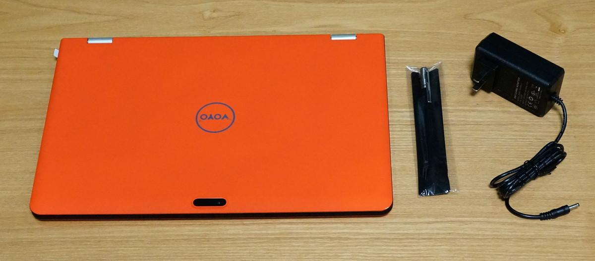 VOYO VBook V3 Ultrabook Fingerprint Identificationレビュー 付属品の紹介