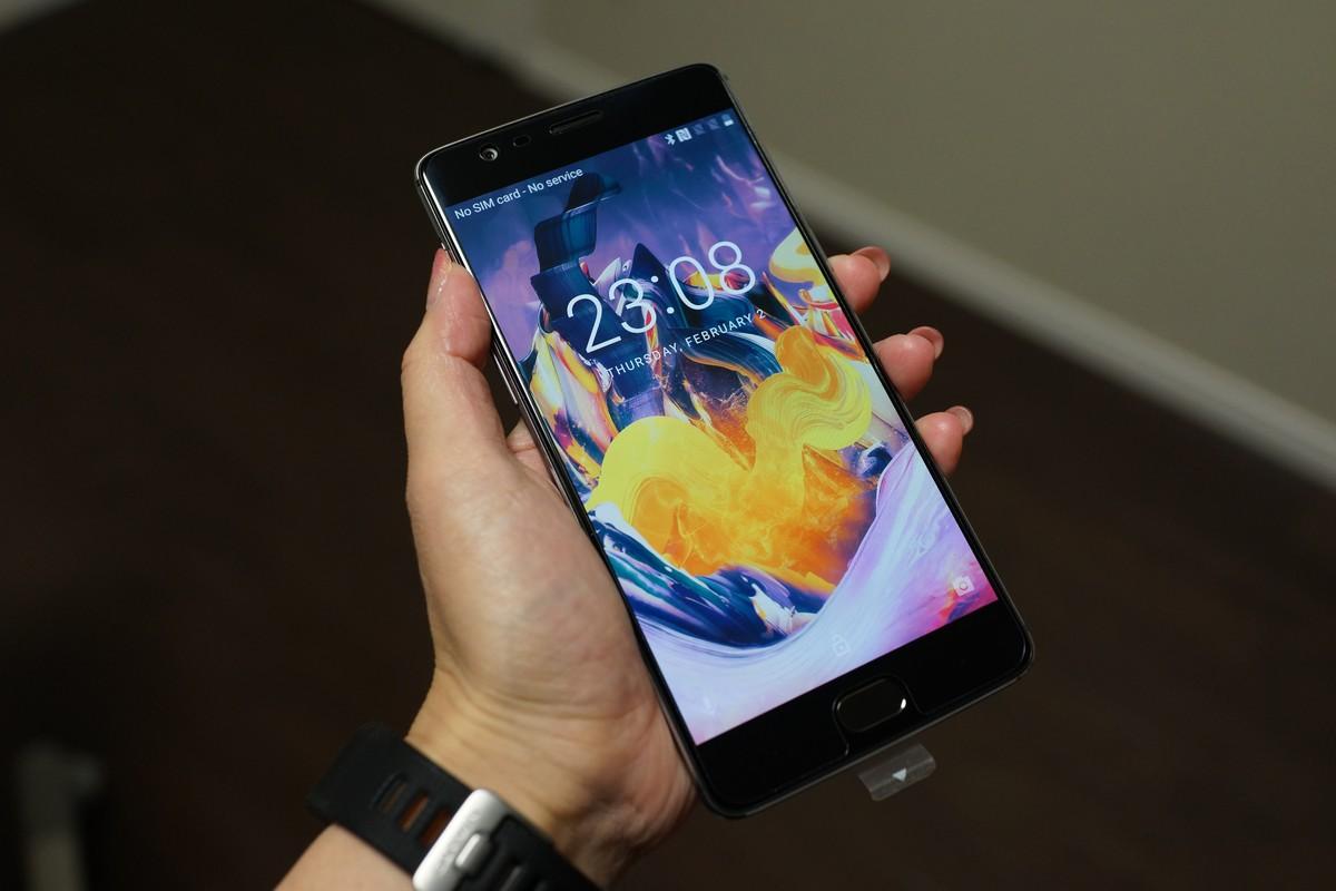 OnePlus 3T レビュー 外観参考画像