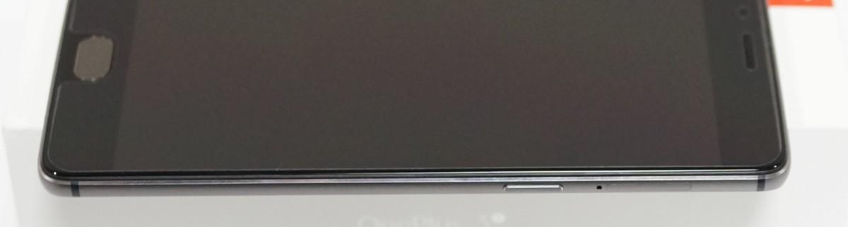 OnePlus 3T レビュー 右側面の写真、物理ボタンの機能の説明参考画像