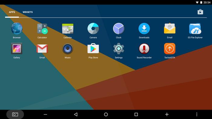 Teclast Tbook 16 Power 実機使用レビュー Android側のプリインストールアプリの詳細参考写真