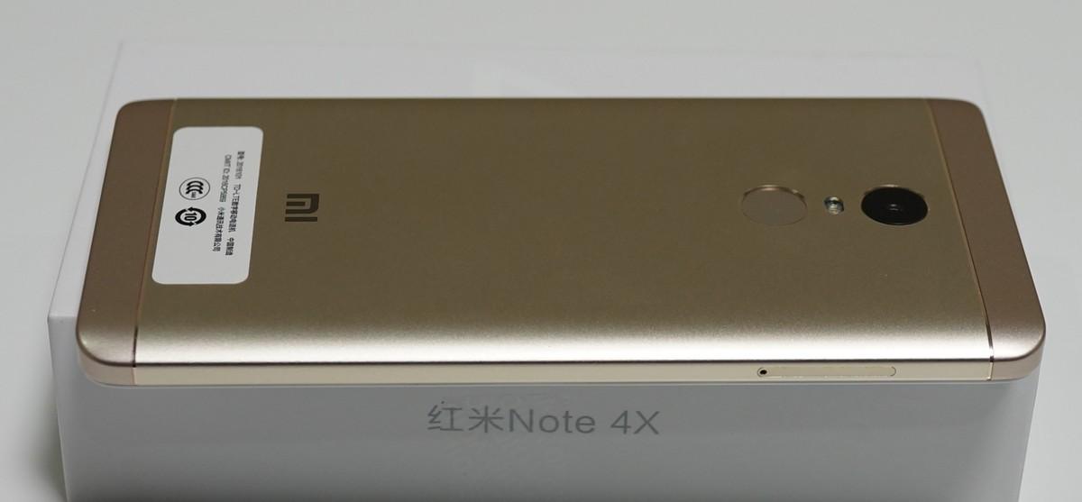 Xiaomi Redmi Note 4X 実機レビュー 外観参考写真