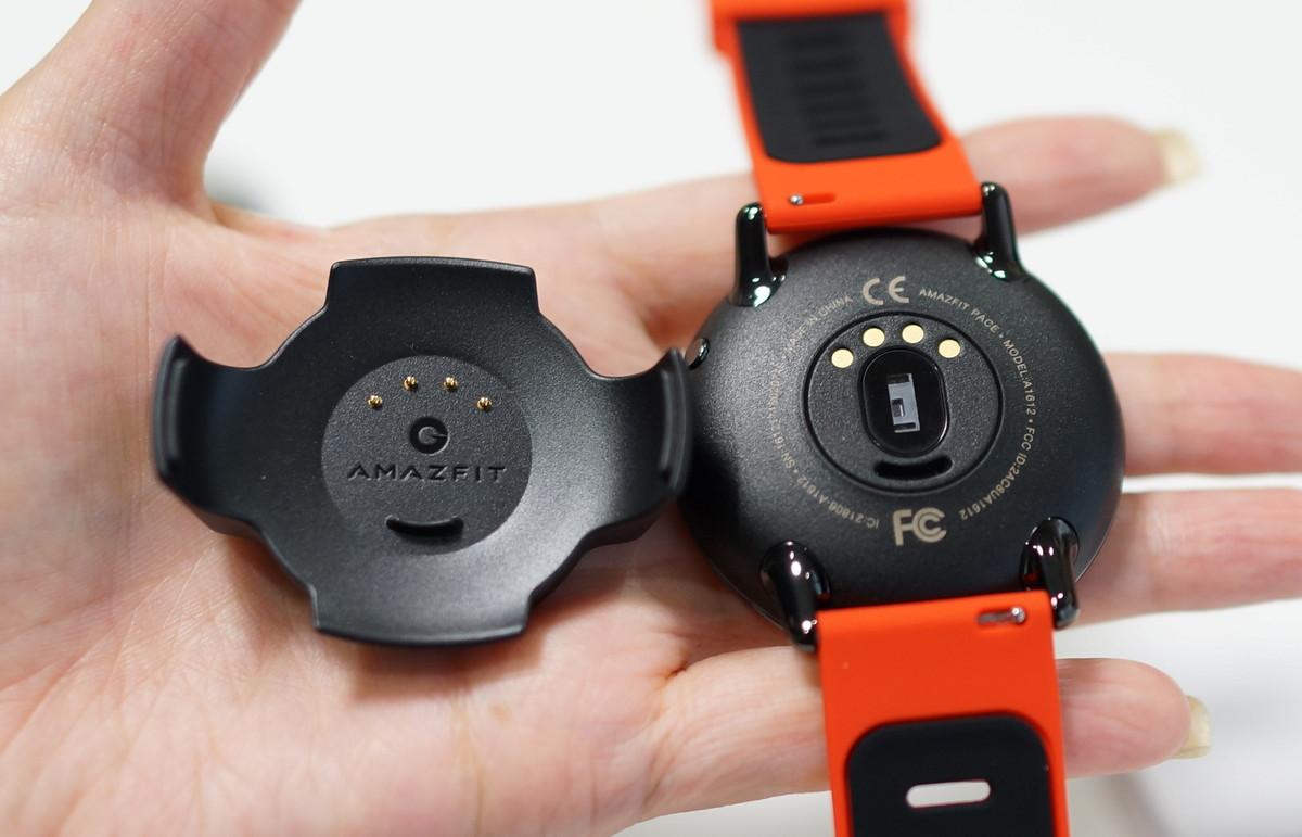 HUAMI AMAZFIT スマートウォッチレビュー 充電のやり方参考画像