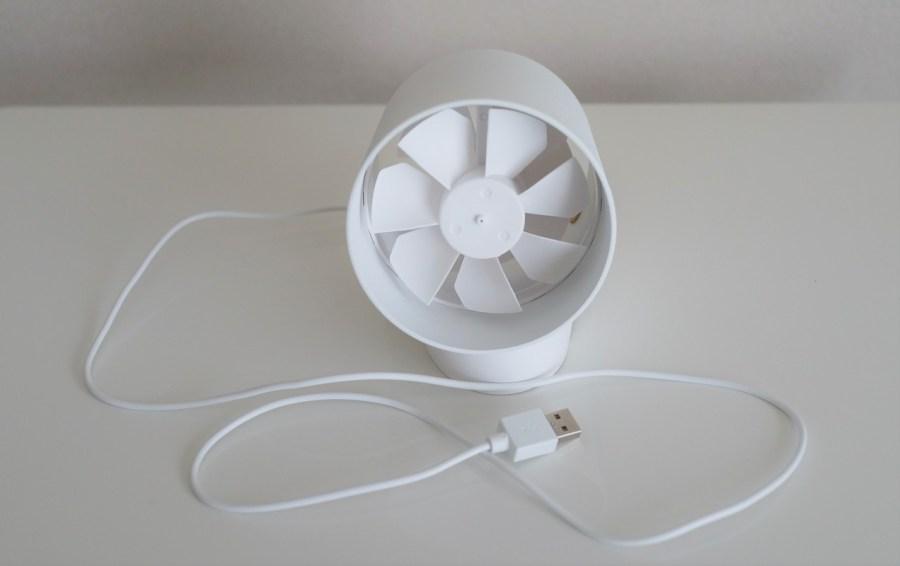 Docooler USBファン 扇風機レビュー