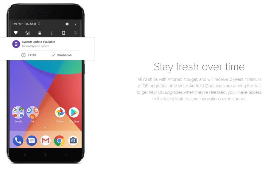 Xiaomi Mi A1 スペック詳細 googlePlayストアについて