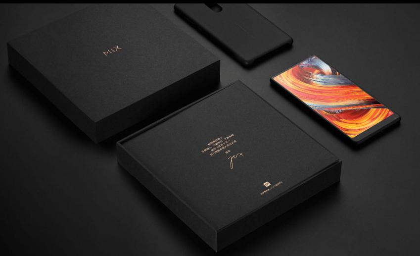 Xiaomi mi mix 2 スペック詳細