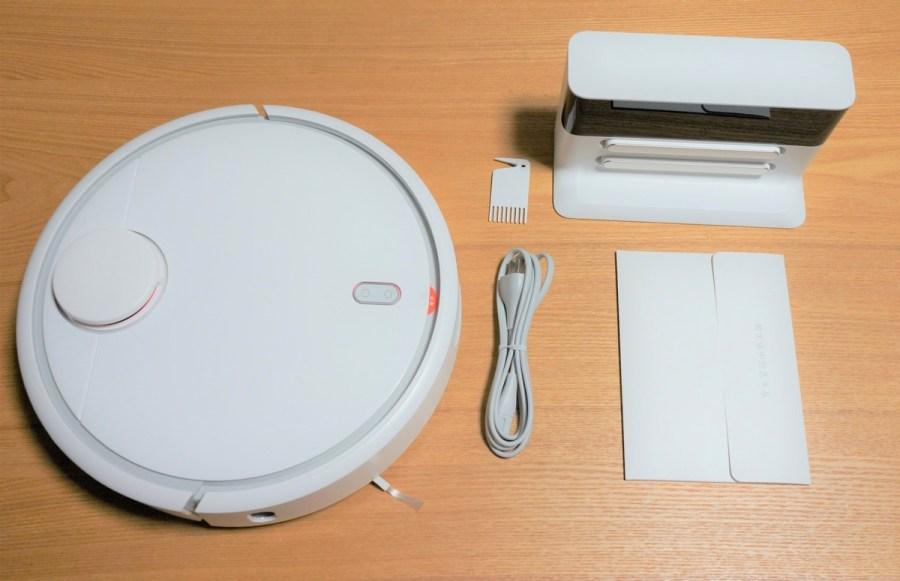 Original Xiaomi Mi Robot Vacuum レビュー 同梱の付属品の紹介